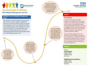 North Yorkshire Weight Management Service goes Virtual!
