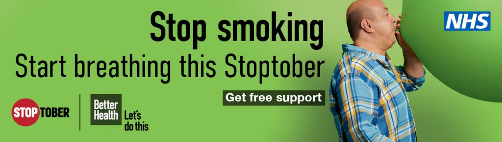 Are you ready for Stoptober......