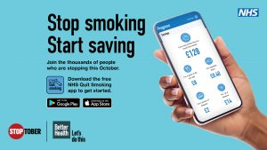 Stoptober - 10 years supporting smokefree, could this year be YOUR year?
